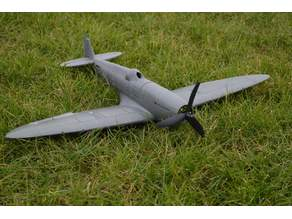 3D Printable RC Spitfire (Original)