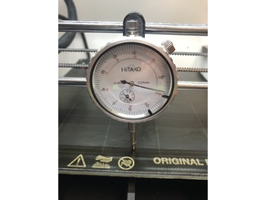 Dial Gauge Holder for Prusa i3 MK3/S