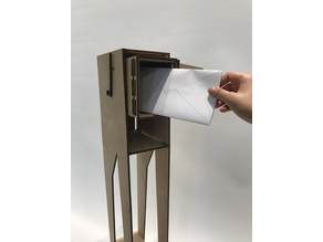 Leggy Laser Cut Mailbox and Stand