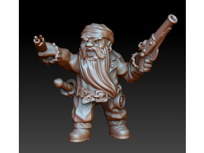 Dwarf pirate