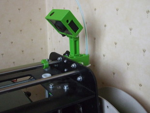Orca 0.4x GoPro Mount - With Filament Guide
