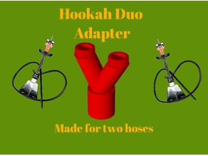 Shisha/Hookah Duo Adapter Final Version