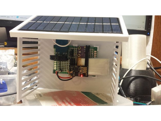 Solar weather station