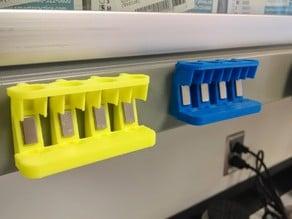 Magnetic 1.5 mL tube rack/stand for IPs, etc.