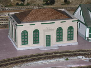 HO Scale  Post Office