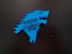 Stark Bottle Opener - WINTER IS COMING
