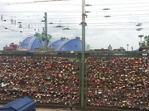 Love lock customizable with your initials