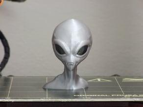 Alien & Alien Bust (multi-material)