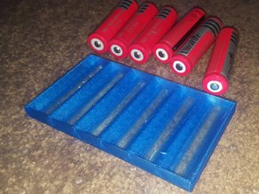 18650 battery tray