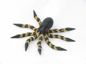 Articulated Octopus (multi-material)