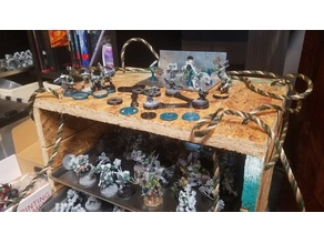 Warhammer 40k Magnet Bases and Movement Trays