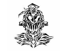 Goblin Slayer stencil 2