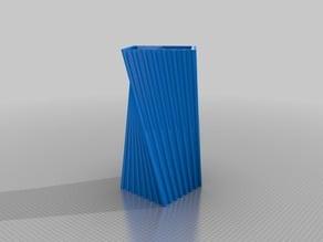 Bamboo Twist Vase