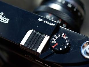 Leica hot-shoe cover