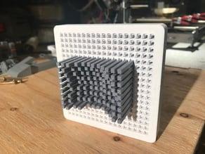 3D contour gauge