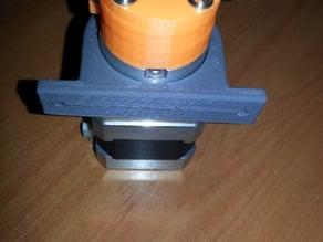Kossel mini extruder clamp