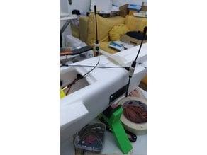 Mini Talon R9 antenna support