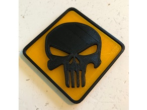 Punisher Skull Sign