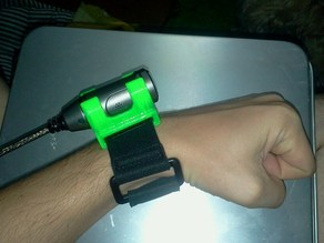 HX-A500 Wearable Camera Arm-band mount parts
