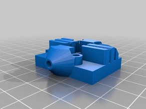 Kossel Mini carriage for MGN12