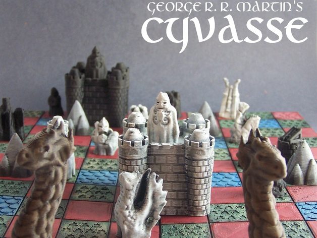 George R R Martin S Cyvasse Unofficial Game By