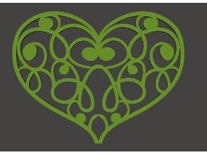 Valentine Gift - Heart Sketchy