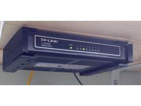 8-port switch end bracket mount (TL-SG1008D)