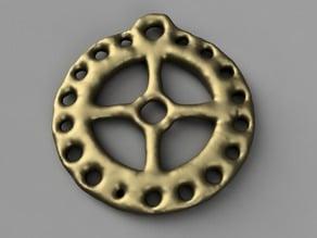 Celtic Sun/Wheel/Taranis Pendant