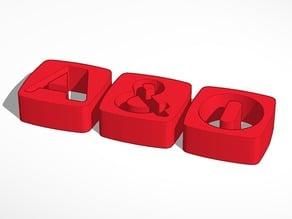 A&O LOGO 3D