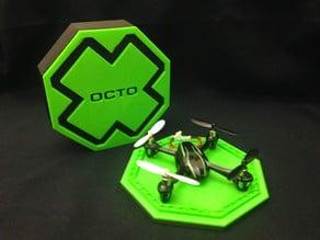 X-Octo Box for the Estes Dart or Hubsan X4 Case
