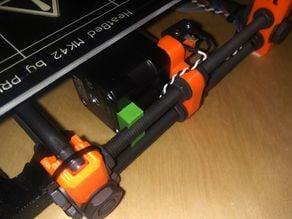 Y motor brace for Prusa i3 MK2