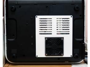 FlashForge Adventurer 3 Bottom Cover for 80mm 10T cooling fan