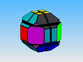 Truncated Rhombic Dodecahedron Puzzle
