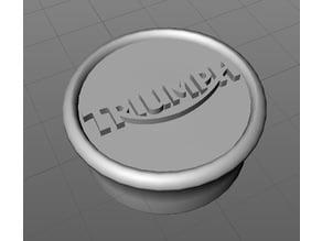 Triumph SSSA hub/axle cap