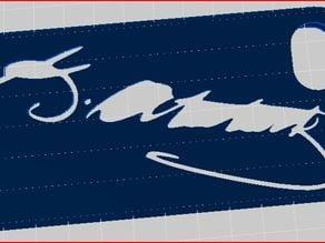 Ataturk signature