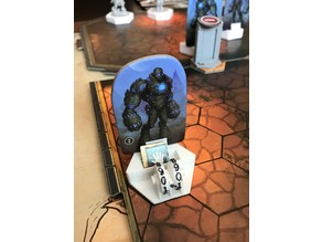 Gloomhaven updated monster standee base and openscad sources