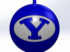 BYU Christmas Ornament