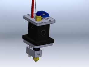 Main extruder for ULTIMAKER 3D PRINTER