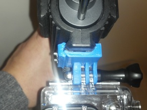 GoPro Picatinny Airsoft Mount