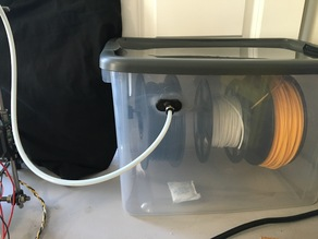 Airtight Dry Box for 3D Printer Filament - Parts