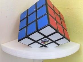 Parametric Rubik's Cube Stand/Corner Shelf