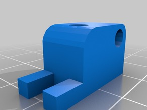 Filament (3mm) Guide for accessible Wade's/Gregs Extruder