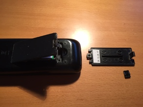 Samsung BN59-01040A Remote Control Battery Cover