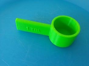 Table spoon measure
