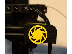 Anycubic Chiron X-Stepper Cover with Cable holder and Knob