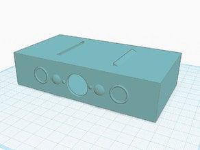 Speaker cab for vibration speaker