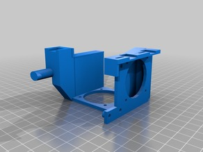 Anycubic Chiron magnetic dual fan mount and duct