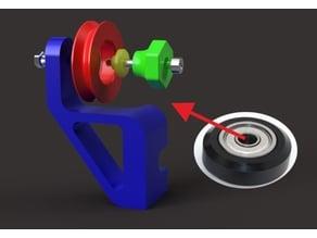 Ender 3 Filament Roller Guide
