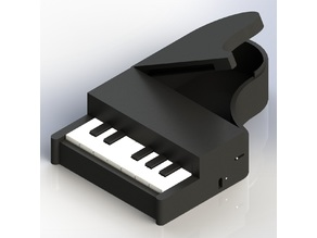 Piano Combination Lock