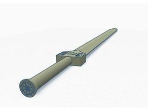 Sokka's Space (Meteorite) Sword